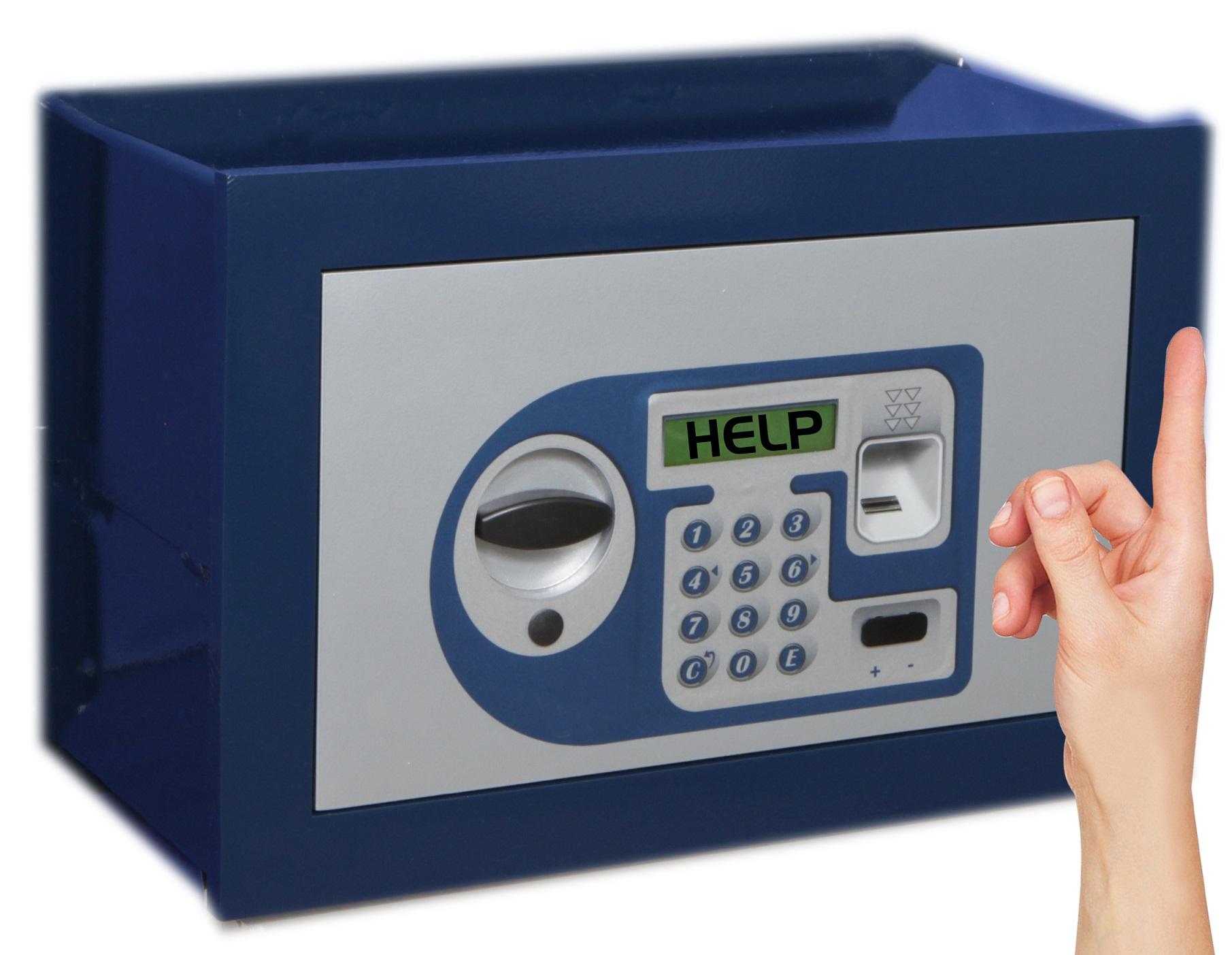 Como abrir una caja fuerte electronica