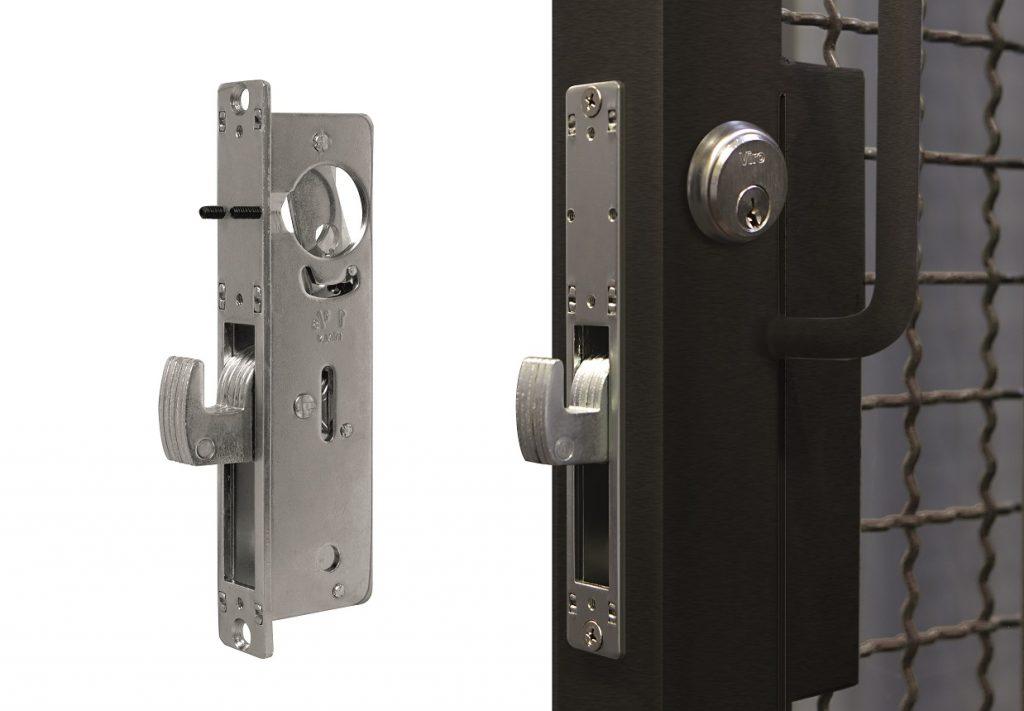 Cerradura de embutir con cerrojo basculante  Viro art. 8506