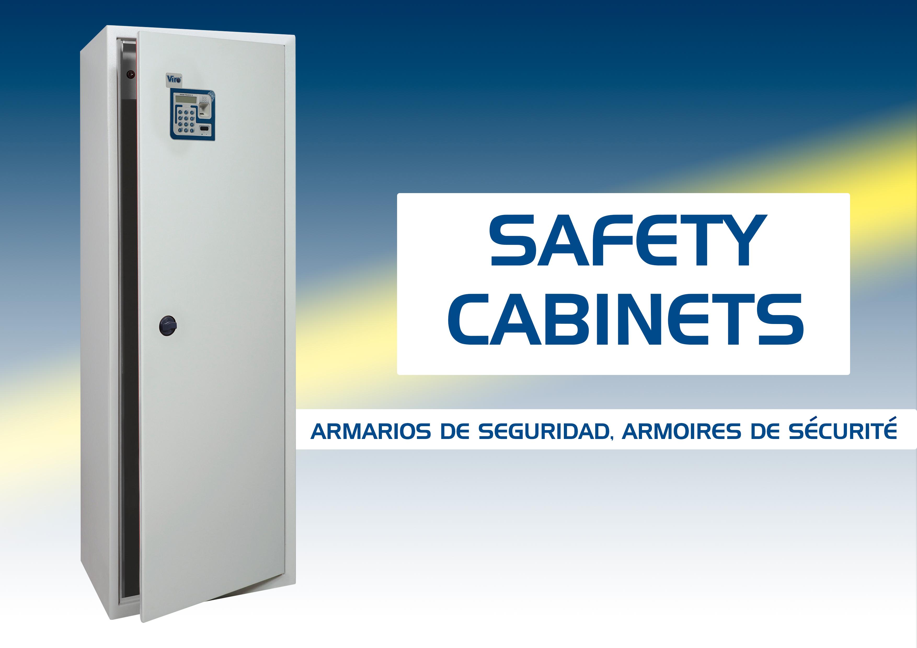 Armarios de seguridad, Armarios portafusiles, Armarios portadocumentos, armarios biométricos, armarios electrónicos